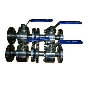 Цельный фланцевый шаровой клапан, DN15 мм, PN50