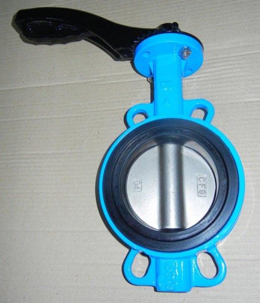 ГОСТ Р 53673-2009 клапан бабочка из ВЧШГ, DN (Dy) 80 мм, 150Lb