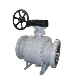 Клапан шаровой цапфовый, 150 - 2500 Lb, DN (Dy) 50 - 1400 мм