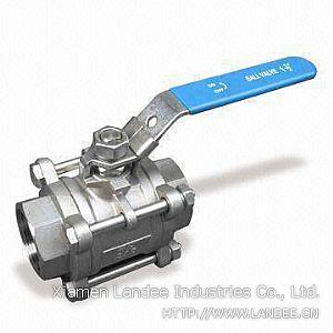 Клапан шаровой из нержавеющей стали, 800, 1000 WOG, DN 6 - 65 мм