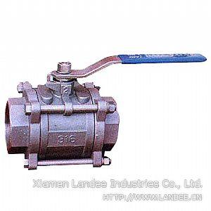 Клапан шаровой кованый с вварышами, 800 WOG, 1000 WOG, DN (Dy) 6 - 65 мм