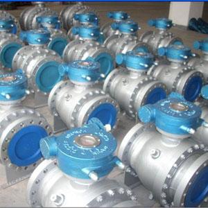 Клапан шаровый с муфтовым присоединением шара, DN 200 мм, 300 LB