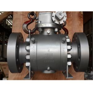 Кованый шаровой клапан с нейлоновым седлом, 1500 LB, DN 100 мм