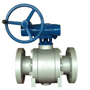 Кованый шаровой клапан со скрепленным болтами корпусом, DN 200 мм, 900 LB