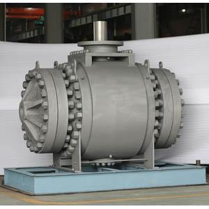 Пожаробезопасный кованый шаровой клапан, DN 750 мм, 900 LB