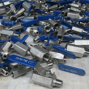Шаровой клапан ASTM A351-CF8, DN15 мм х DN15 мм