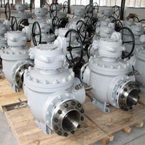 Шаровой клапан для запуска в трубопровод поршней, DN 250 мм, 300Lb