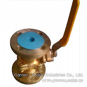 Шаровой клапан из алюминиевой бронзы, DN 25 - 600 мм, 150 - 300 LB