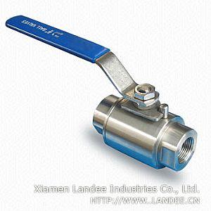 Шаровой клапан из нержавеющей стали, 800, 1000 WOG, DN 6 - 65 мм