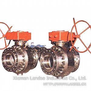 Шаровой клапан из трех частей, DN 15 - DN 900 мм, 120 LB - 2500 LB