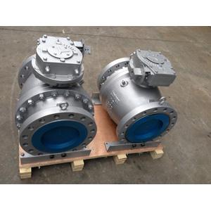 Шаровой клапан с металлическим седлом, DN 250 мм, 300 LB