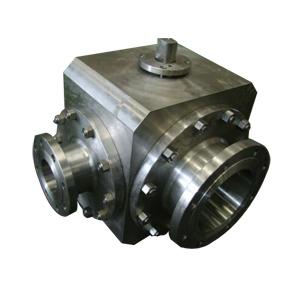Трехходовой шаровой клапан, PN20, DN200