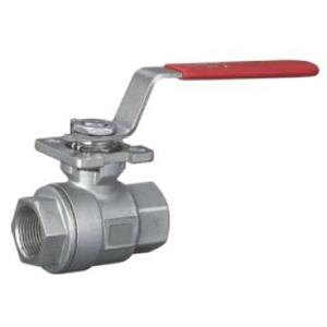 Ввинчиваемый шаровой клапан ASTM A216 WCB, 1000 WOG, DN (Dy) 20 мм