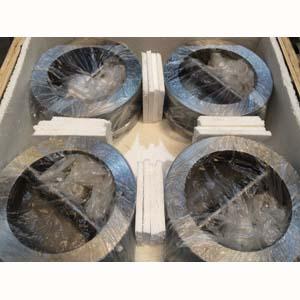 Двойной обратный дисковый затвор, PN40, DN 300 мм