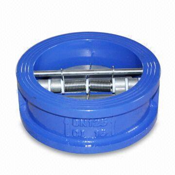 ГОСТ Р 53671-2009 обратный клапан с удвоенной плитой, DN 25 мм - DN 1000 мм, PN10, PN16