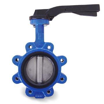 ГОСТ 12521-77 клапан бабочка с рёбрами,  DN 25 - 1000 мм