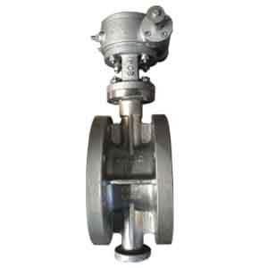 ГОСТ 12521-77 клапан бабочка SS304, DN 100 мм, 125 мм