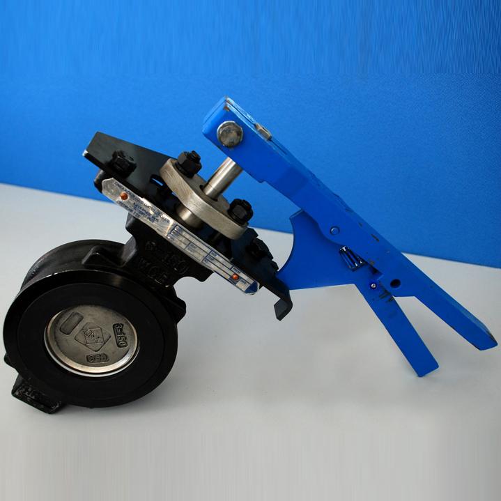 ГОСТ 12521-77 клапан бабочка высокого давления, PN 25, DN 100 мм