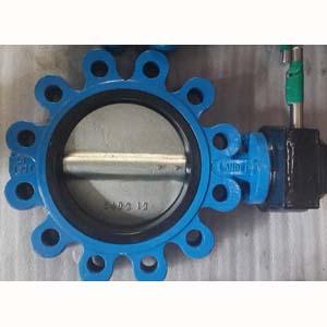 ГОСТ 12521-77 Рифленый клапан бабочка, PN 25, DN 100 мм