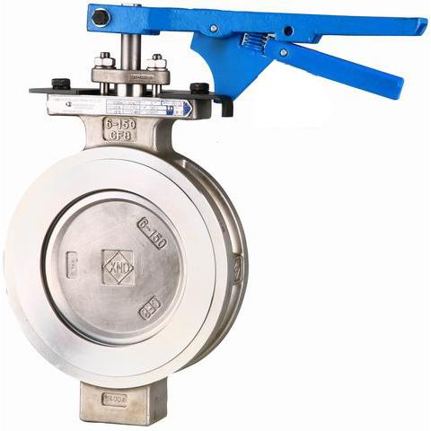 ГОСТ 12521-77 высокопроизводительный клапан бабочка, 150lbs, 300lbs, 600lbs,  DN 32 - 1600 мм