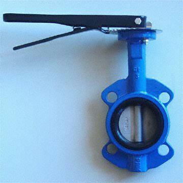ГОСТ Р 53673-2009  Клапан бабочка из литейного чугуна, DN 40 - 600 мм, PN 0,6MPa -  PN 1,6 MPa