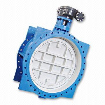 ГОСТ Р 53673-2009 клапан бабочка с двойным эксцентриком, DN 100 - 2000 мм, PN 0,6 MPa - PN 1,6 MPa