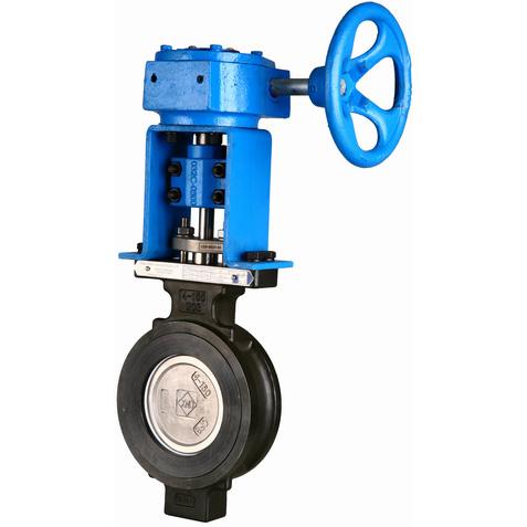 ГОСТ Р 53673-2009 Клапан бабочка с металлическим седлом, DN (Dy) 32 - 1600 мм, 150lbs, 300lbs, 600lbs