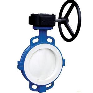 Клапан бабочка ASTM A216 WCB, DN80 мм, 300Lb