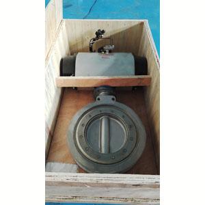 Поворотная заслонка пластинчатого типа, 150Lb, DN 450 мм