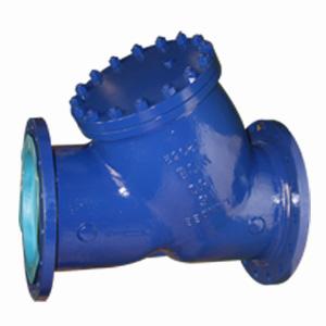 У-образный сетчатый фильтр ASTM A216 WCB, 150 LB, DN 100 мм