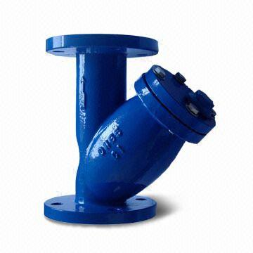 У-образный сетчатый фильтр из литейного чугуна, PN 1,0 / 1,6 mPa, DN (Dy) 15 мм - DN (Dy) 300 мм
