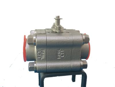API 6D Bare Stem Ball Valve, F316, 1 Inch, 800LB, NO.12 Trim