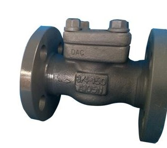 API 602 Integral Flange Swing Check Valve, 3/4 Inch, CL 300