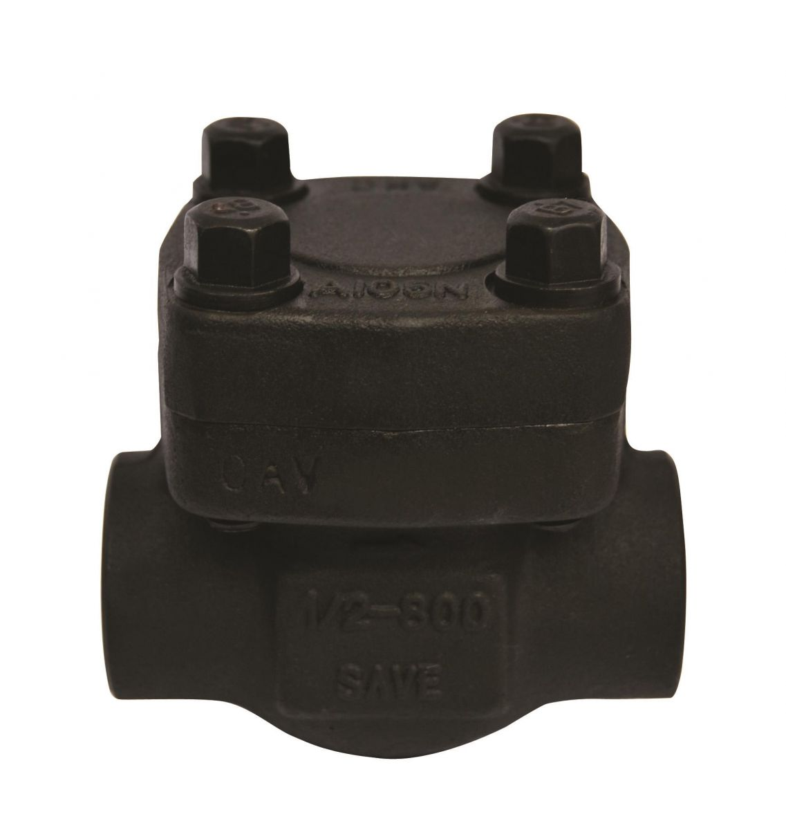 API 602 Piston Check Valve, A105N, 1/2 Inch, 800LB, Trim 5