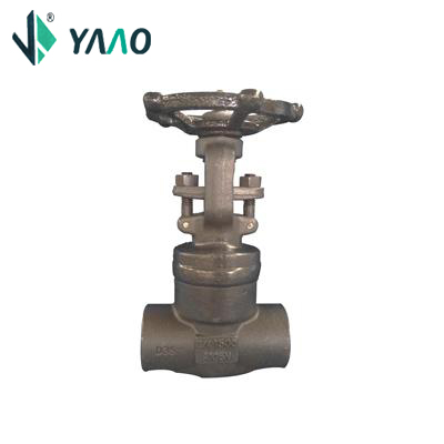 API 602 Welded Bonnet Gate Valve, A105N, 3/4IN, CL1500, Trim 5