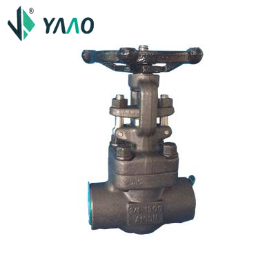 DIN 3352 Gate Valve, A105N, 3/4 Inch, 1500LB, With Hand Wheel
