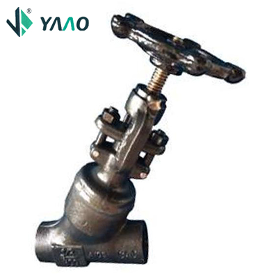 800-1500LTD Globe Valve, Welded Bonnet, Full Port (Y Type)