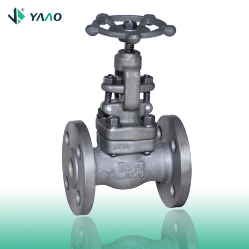 Flanged A105 Forged Globe Valve 1/2-4 Inch 150-2500 LB