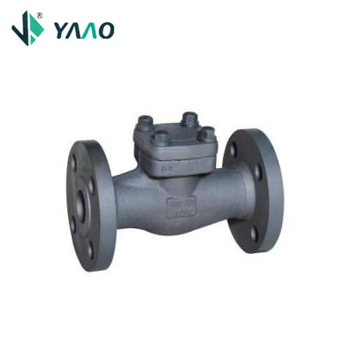 2500LB Integral Flanged Check Valve, Self-Sealing