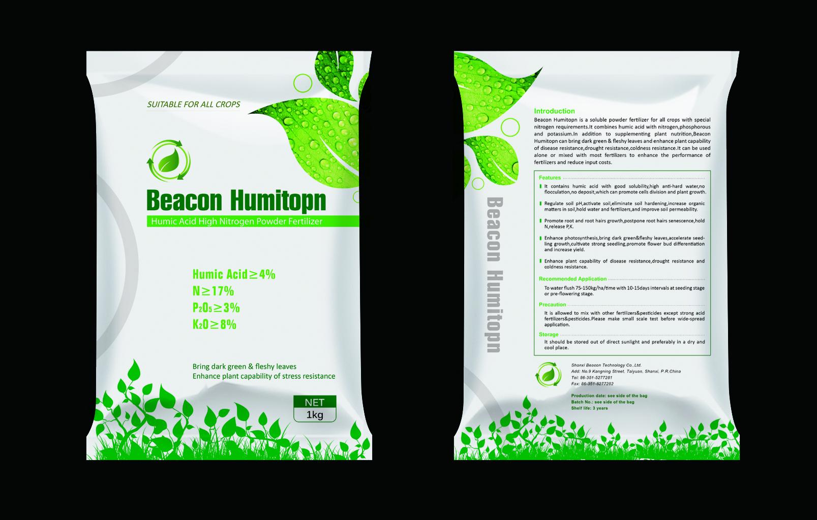 Humitopn Humic Acid High Nitrogen Powder Fertilizer
