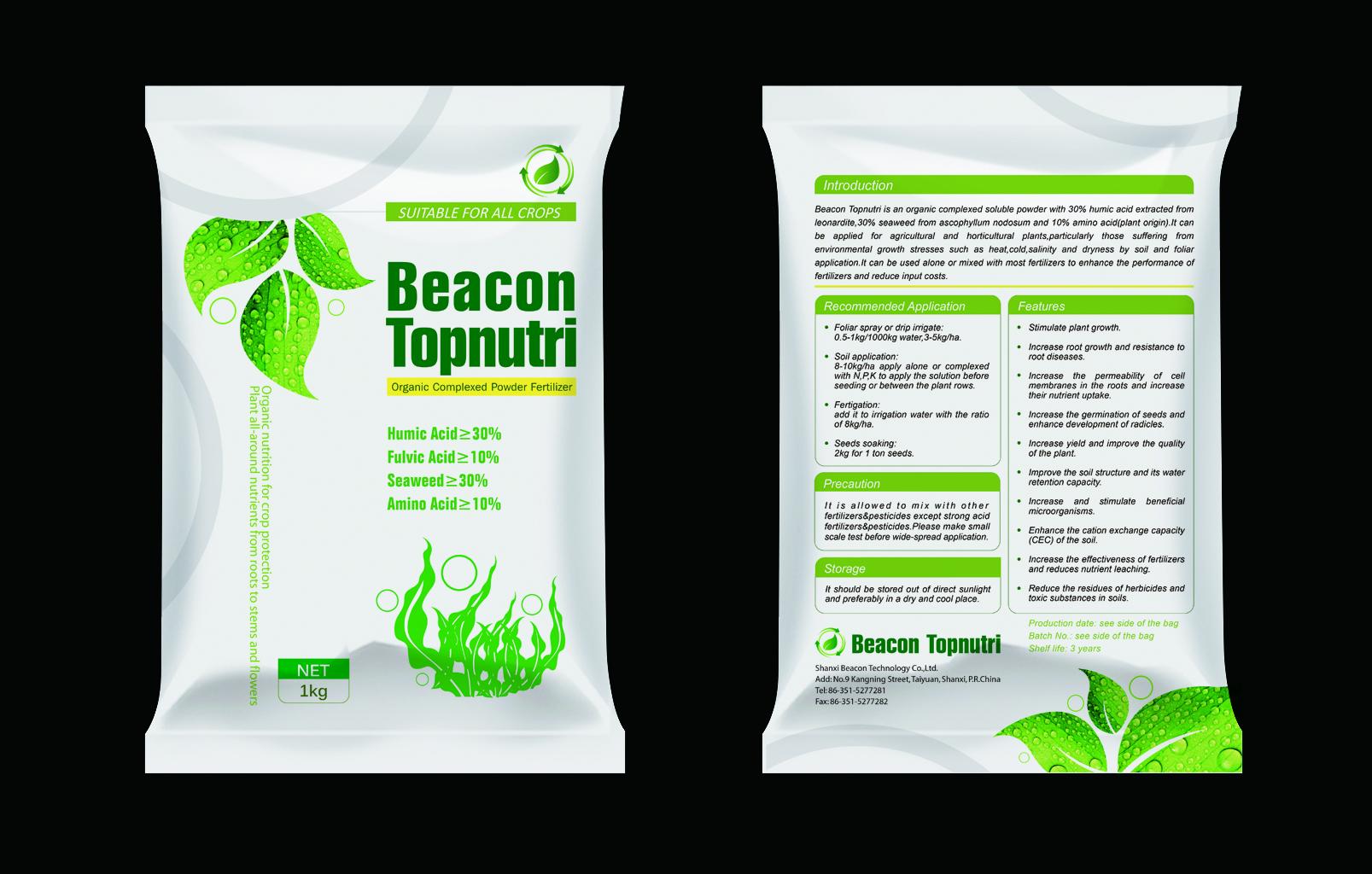Topnutri Humic Acid+Seaweed+Amino Acid Powder Fertilizer