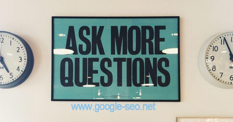 寻找优秀Google SEO公司应该问哪些问题?