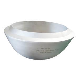 ASME B16.9 Cap, ASTM A403 WP304L, DN450, WT SCH 160, BW, Seamless