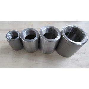 ASTM A105 Straight Couplings, ANSI B 16.11, DN20, PN400, ASME B1.20.1