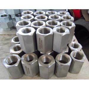ASTM A182 F316 Hexagon Reducing Couplings, PN400, DN20 X DN15, FNPT