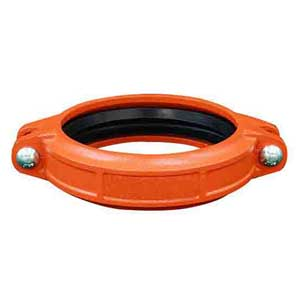 Ductile Iron Grooved Couplings, DN100, Painted Treatment