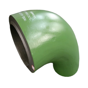 12Cr1MoVG Elbows, 90 Degree, SH3408, 457mm X 55mm, Green Painting