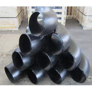 ASTM A234 WPB 90D Long Radius Elbows, ANSI B16.9, DN250, SCH 40, BW