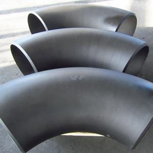 ASTM A234 WPB Seamless 90D Elbows, ASME B16.9, DN400, SCH 60, Beveled