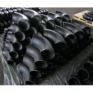 ASTM A234 WPB Seamless Elbows, 90D, ASME B16.9, DN150, SCH-STD
